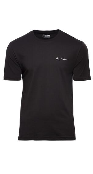 VAUDE Brand Shirt Men black